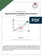 01 - Repaso - Trigonometría y Productos Entre Vectores