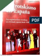 González, Luis. El Trotskismo en España. Las Organizaciones Trotskistas en El Estado Español Desde 1930 a La Actualidad (1)