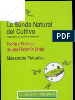 Masanobu Fukuoka - La Senda Natural Del Cultivo 1 de 4