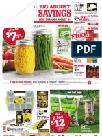 Seright's Ace Hardware August 2016 Red Hot Buys