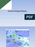 Geomorfologi Maluku
