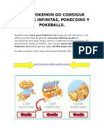 Conseguir monedas Infinitas Hack Online Pokemon Go  (Pokecoins y Pokeballs)