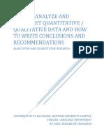 How to Analyze and Interpret Quantitative and Qualitative Data (1)