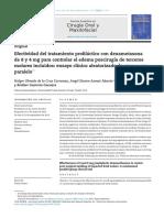 2013 - Dexametasona 8 y 4 Mg REV Cir Oral Maxilo