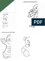 Completa La Parte Que Falta Del Dibujo