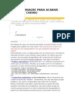 USO DE VINAGRE PARA ACABAR COM MAU CHEIRO.docx