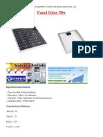 Panel Solar 50w HOMEMADE