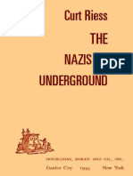 The Nazis Go Underground - Curtis Reiss (1944)