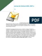 Como Fazer Backup Do Outlook 2003