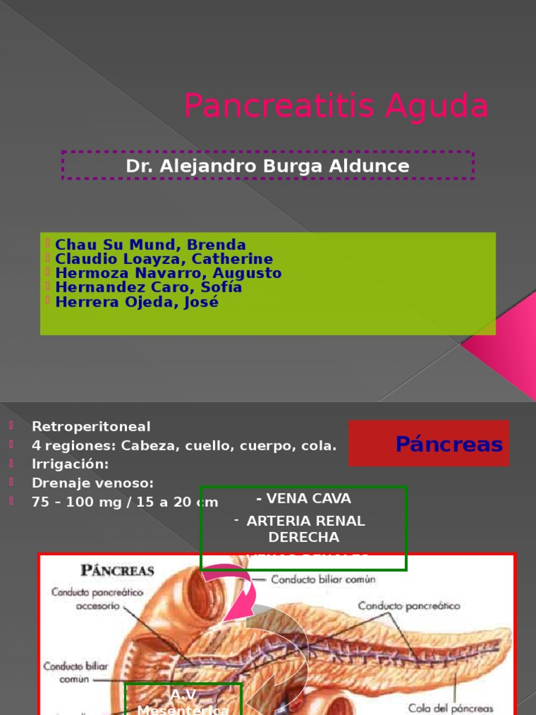 Expo Completa Pancreatitis