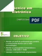Apresentação CTP Tecnico Em Eletrônica