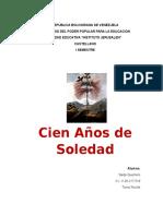 Analisis Cien Años de Soledad