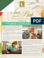 Rydal Park Newsletter
