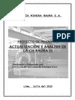 Informe Tecnico Factibilidad Raura III