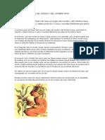 Mito de La Creacion Del Mundo y Del Hombre Maya