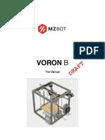 Voron b - The Manual