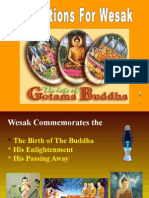 Reflections for Wesak