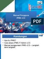 1GovUC IPMS V2.0 User Guide v1.2