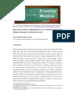 Educación Musical Performativa en Contextos Escolares