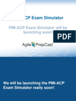 PMI-ACP Exam Simulator