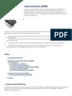 Análisis Del Amplificador de Audio LM741 y 386