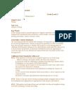 final draft of curriculum overview