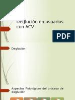 Disfagia en Usuarios Con ACV