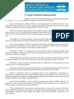 aug01.2016National Coastal Greenbelt Program pushed