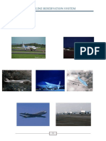 Documentation for Airline Reservation System