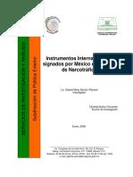 Instrumentos Internacionales signados por México en materia de Narcotráfico.pdf