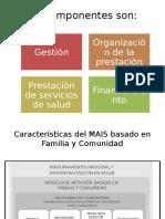 Componentes Del Modelo de Atención Integral de Salud