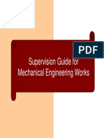 Supervision GUide for Mechanical Engineering Works