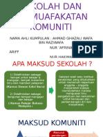 Kumpulan 5 Sekolah Dan Komuniti