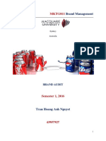Coke vs Pepsi_brand Audit