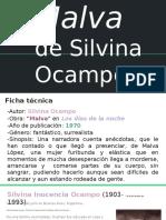Malva de Silvina Ocampo