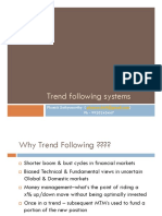 Trend Following Systems