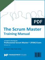 The Scrum Master Training Manual Vr1.6