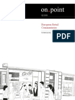 European Retail Commentaries Q3 2009