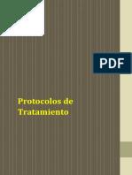 Protocolos de Tratamiento