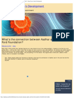 What's the Connection Between Aadhar and the Ford Foundation_ _ Atanu Dey On