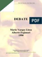 Debate Vargas Llosa vs Fujimori (1990)