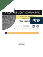 Programa SPyC FAC MED UNAM 2015-6