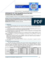 Research on the Diameter Electrodes in Electric Arc Furnace