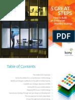 Kony 5 Great Steps eBook