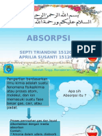 Absorpsi (1512046 dan 1512070)