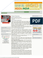 Project Proposals _ NGOs India _ Database and Resources of Indian NGOs, NPOs