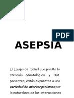 1. Charla Asepsia B y N