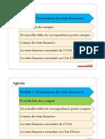 Microsoft PowerPoint - Module 3 - PRESENTATION DES ETATS FINANCIERS [Mode de Compatibilité]
