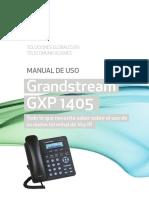 Manual Grandstream GXP1405