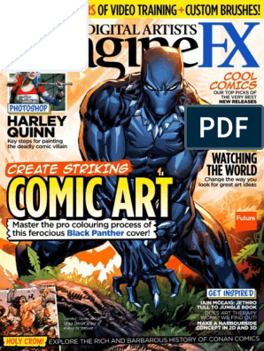ImagineFX Aug 2016 | Art Therapy | Paintings
